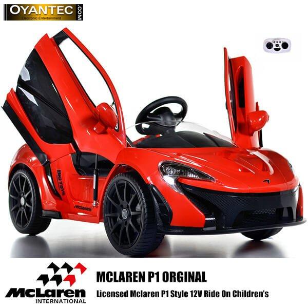 ماشین شارژی مک لارن P1 رنگ قرمز اورجینال
