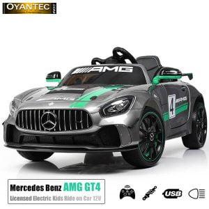 ماشین شارژی سوپر اسپرت مرسدس بنز GT4 AMG