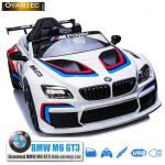 ماشین شارژی BMW M6 GT3 اسپرتی سفید