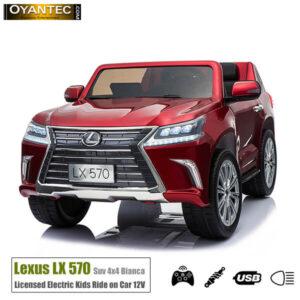 ماشین شارژی لکسوس LX570 Red-4WD