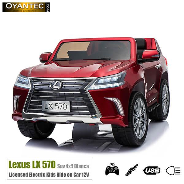 ماشین شارژی لکسوس LX570 Red