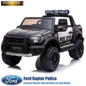 ماشین شارژی فورد رنجر رپتور طرح پلیس