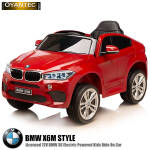 ماشین شارژی BMW X6M قرمز متالیک