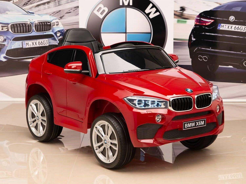 ماشین شارژی BMW X6M رنگ سفید