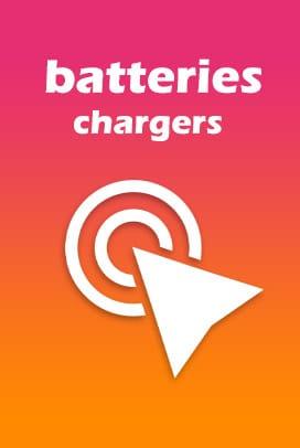 انواع باتری و شارژر