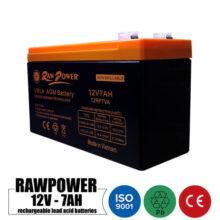 باتری شارژی 12 ولت 7 آمپر RAWPower مدل 12RP7VA