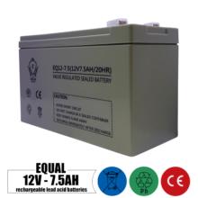 باتری شارژی 12 ولت 7.5 آمپر EQUAL مدل EQ12-7.5