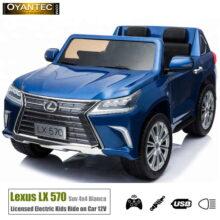 ماشین شارژی لکسوس LX570 BLUE-4WD