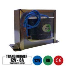 ترانس 12 ولت 8 آمپر تک خروجی