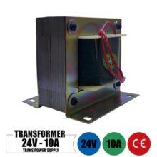 ترانس 24 ولت 10 آمپر تک خروجی