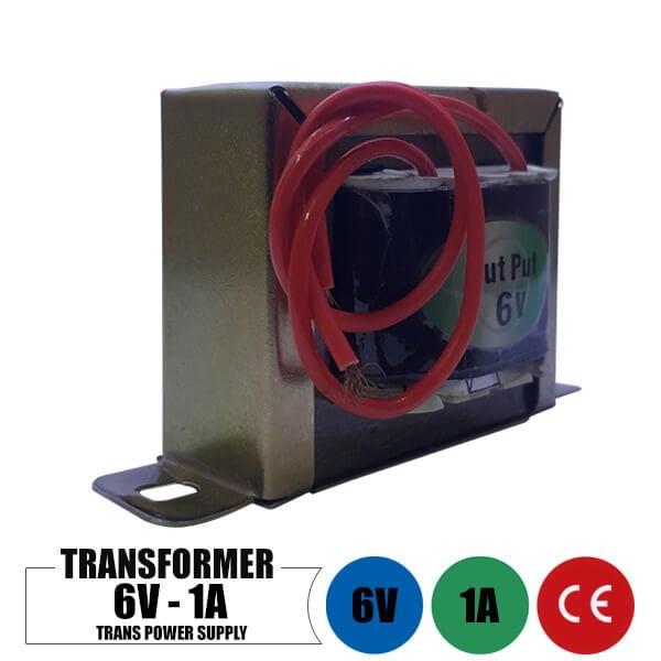 ترانس 6 ولت 1 آمپر تک خروجی