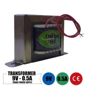 ترانس 9 ولت 0.5 آمپر تک خروجی
