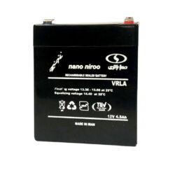 باتری یو پی اس 12 ولت 4.5 آمپر ساعت صبا باتری مدل نانو