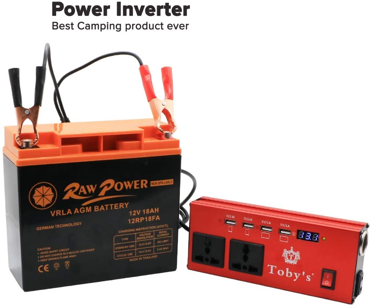 Battery UPS 12 Volt 18 Amps Raw Power