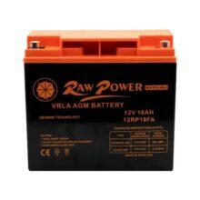 باتری یو پی اس 12 ولت 18 آمپر ساعت Raw power