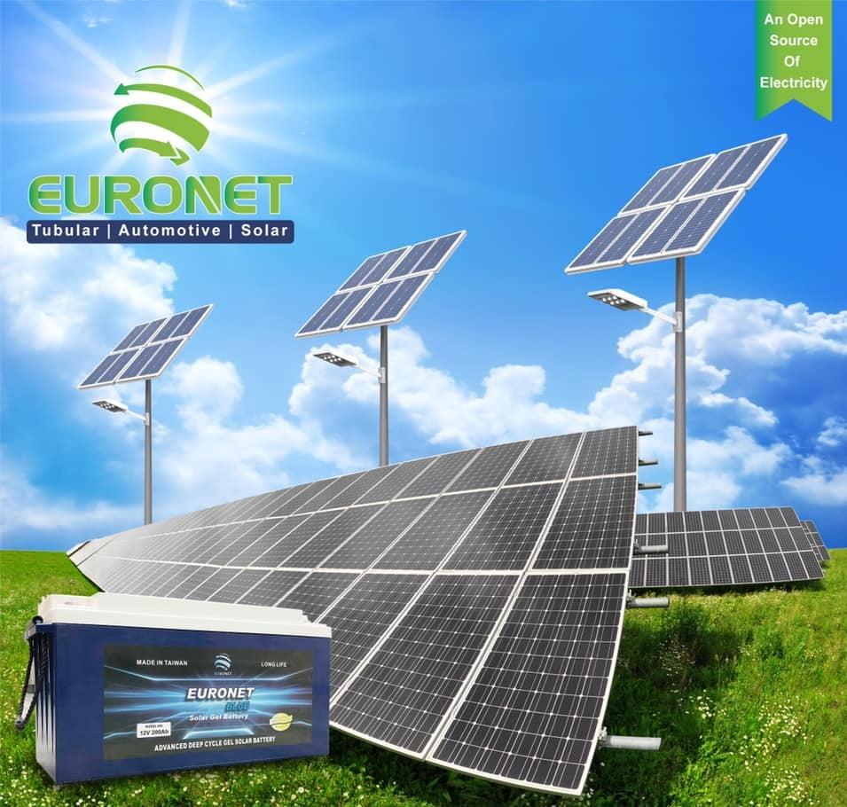 EURONET 12 volt 100 amp UPS battery