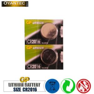 باتری سکه ای جی پی لیتیوم CR2016