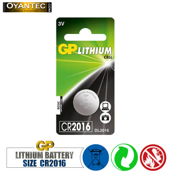 باتری سکه ای لیتیوم CR2016 جی پی