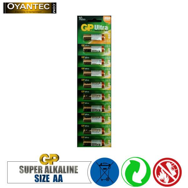 باتری قلمی سوپر الکالاین جی پی 10 عددی