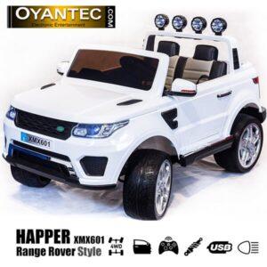 ماشین شارژی هاپر چهار موتوره سفید XMX601