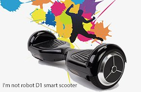I'm not robot D1 smart scooter