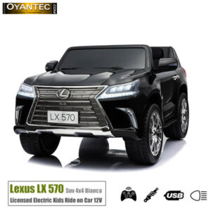 ماشین شارژی لکسوس LX570 2WD Black