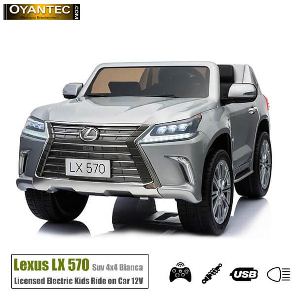 ماشین شارژی لکسوس LX570 Silver