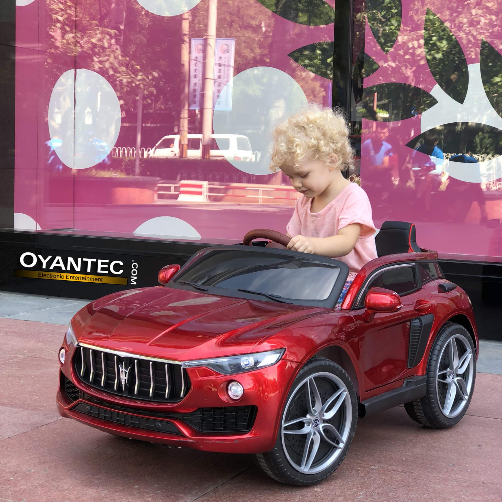 ماشین شارژی مازراتی لوانته SUV چهار موتوره