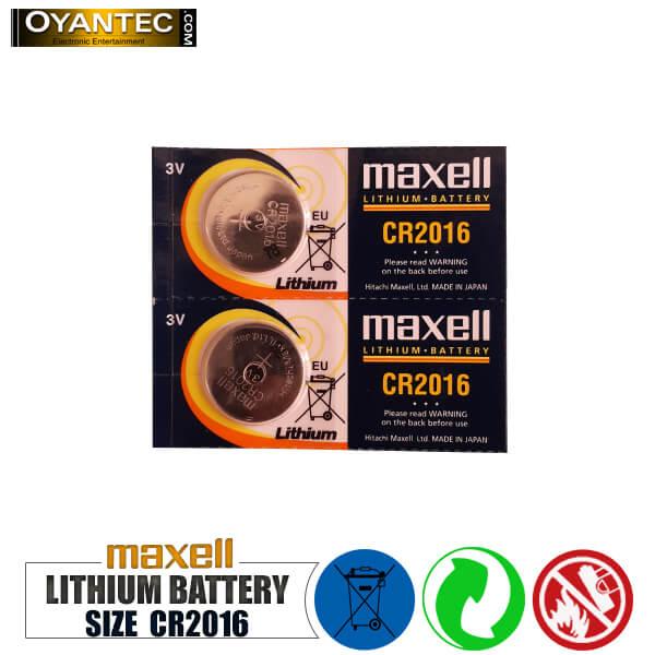 باتری سکه ای مکسل لیتیوم 5 عددی CR2016