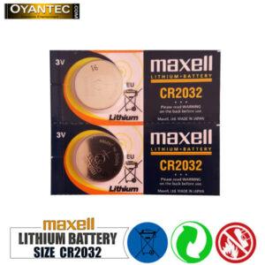 باتری سکه ای مکسل CR2032 لیتیوم 5 عددی