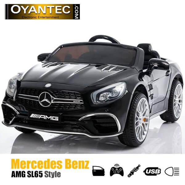 ماشین شارژی مرسدس بنز SL65 AMG BLACK
