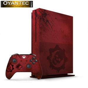 کنسول بازی مایکروسافت مدل Xbox One S هارد 2TB و طرح Gears Of War 4