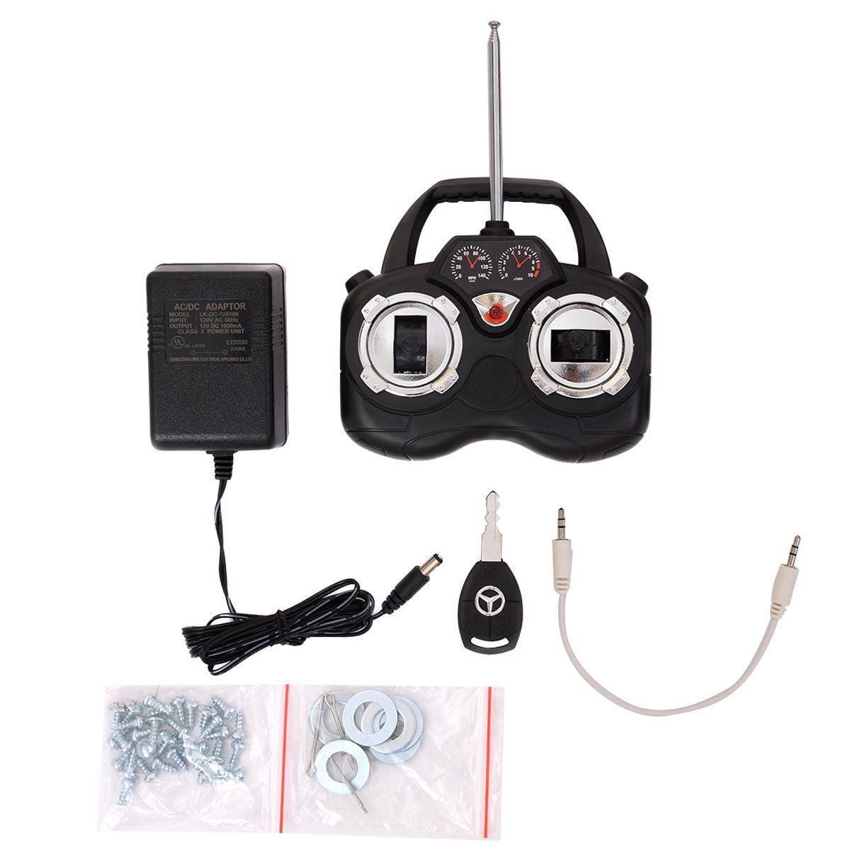کنترل از راه دور رادیویی ماشین شارژی دو سرعته