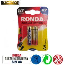 باتری قلمی روندا الکالاین 2 عددی