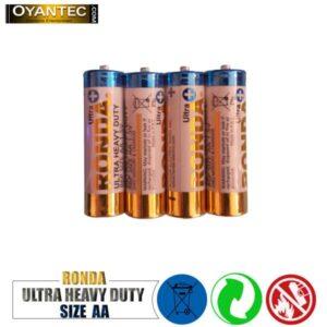باتری قلمیروندا معمولی شیرینک 4 عددی