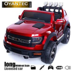 ماشین شارژی لانگ رنگ قرمز متالیک