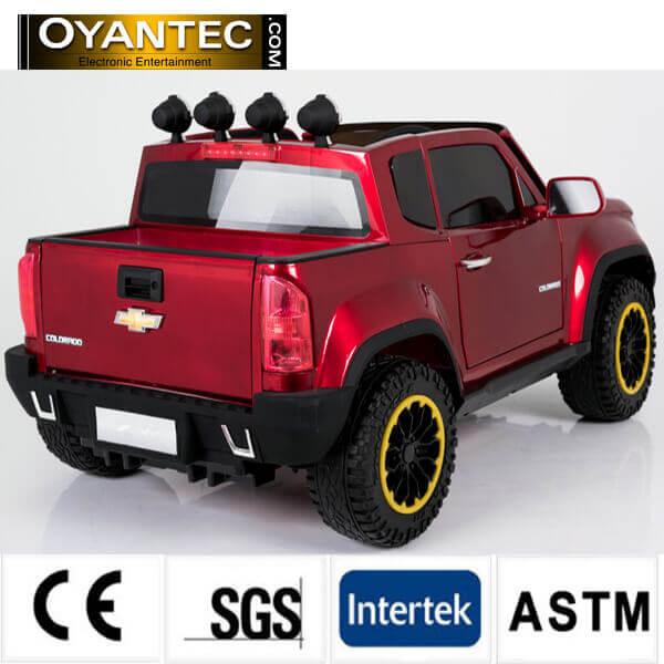 shervelet red4 - ماشین شارژی چهار موتوره شورولت کلرادو