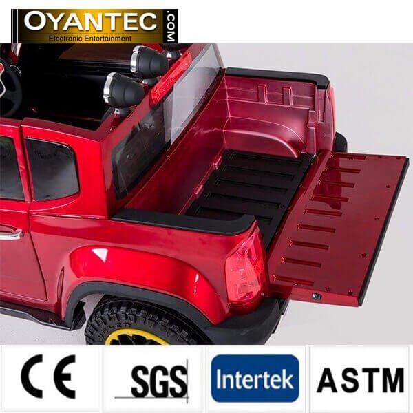 shervelet red7 - ماشین شارژی چهار موتوره شورولت کلرادو